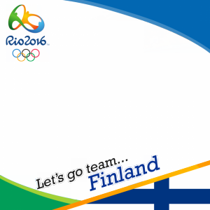 Finland Rio 2016 team profile picture overlay frame filter