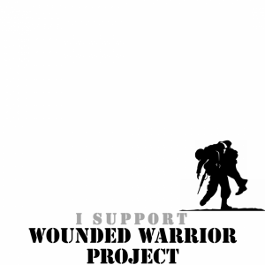 I Support Wounded Warrior Project profile picture overlay frame filter