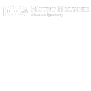 Celebrate 100 Years of the MHC Alumnae Quarterly