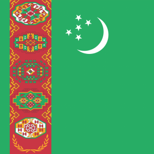 Turkmenistan flag profile picture overlay