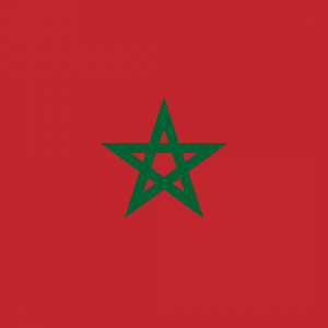 Morocco flag profile picture overlay