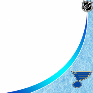 St Louis Blues profile picture overlay filter frame logo