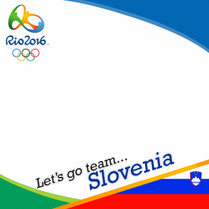 Slovenia Rio 2016 team profile picture overlay frame filter